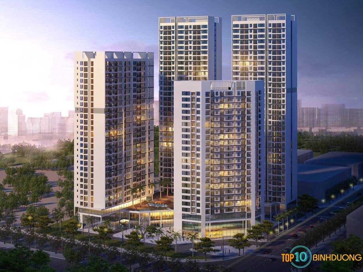 dự án chung cư cao cấp Green Square Dĩ An Bình Dương