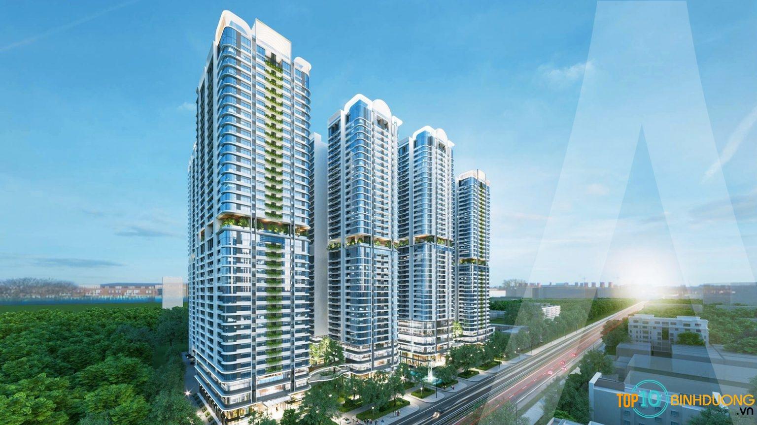 dự án chung cư cao cấp Astral City