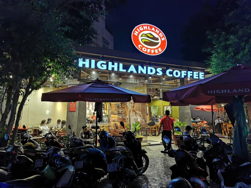 Highlands Coffee Becamex